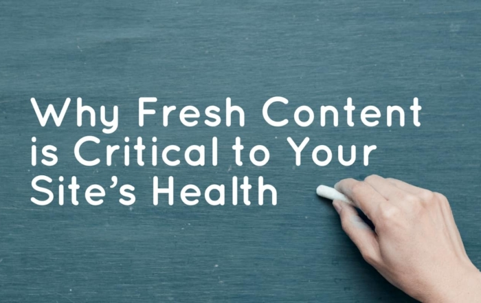 fresh-content-critical-site-health